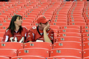 "Where'd you get those jerseys? The ""teams that suck store""? See what I did there?"