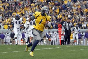 West Virginia only has half the uniforms that Oregon does, but it is still a lot