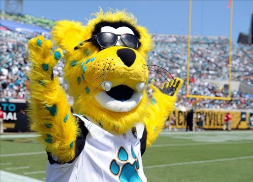 No lie, though, this is my favorite NFL mascot